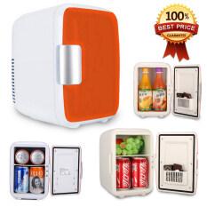 Hot item 4L Mini Refrigerator ตู้เย็นมินิแบบพกพา 4 ลิตร - Red Series