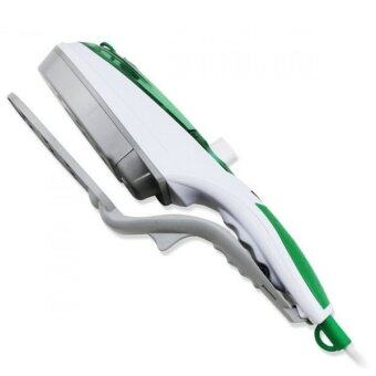 BEST Tmall stream iron brush เตารีดไอน้ำพกพา 1000 วัตต์ (สีเขียว)