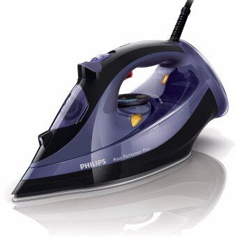 Philips GC4525/30 Azur Performer Plus Steam Iron with 200g Steam Boost, 2600 W - Black and Purple