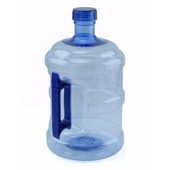 Wpower ถังน้ำดื่ม ขนาด 10ลิตร รุ่น ถังน้ำโพลีคาร์บอเนต กลมใส พร้อมด้ามจับมือถือ แพ็คคู่ สีน้ำเงิน (image 1)
