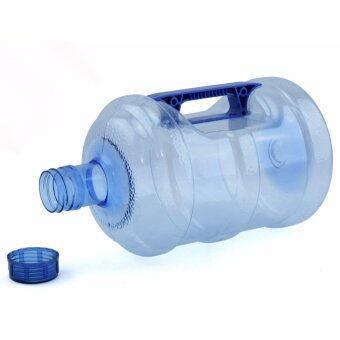 Wpower ถังน้ำดื่ม ขนาด 10ลิตร รุ่น ถังน้ำโพลีคาร์บอเนต กลมใส พร้อมด้ามจับมือถือ แพ็คคู่ สีน้ำเงิน (image 2)