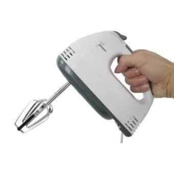 iremax เครื่องผสมอาหาร เครื่องตีไข่ไฟฟ้า Electric 7 Speed Egg Beater Flour Mixer Mini Electric Hand Held Mixer (White) แถมฟรี ไม้พายซิลิโคน(price:199-) (image 2)