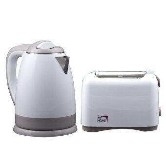 My Home ชุดกาต้มน้ำ และเครื่องปิ้งขนมปัง รุ่น KT-1805 /TL-128