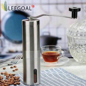 Leegoal ปรับได้ด้วยการเคลือบเสี้ยนกาแฟบด 30กรัมกาแฟผงให้