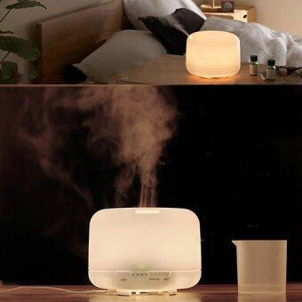 Bluelans 500ml Oil Aroma Diffuser Ultrasonic Mist Humidifier LED Color Changing Light - intl
