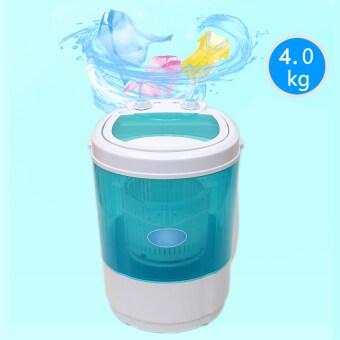 JOWSUA เครื่องซักผ้ามินิ Mini Washing Machine - สีเขียว 4 KG