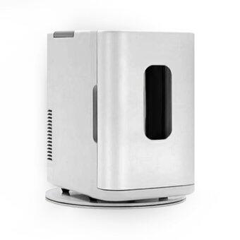 ตู้เย็นมินิเล็กสีขาว ขนาดจุใจ 10ลิตร พกพาสะดวก ใช้ได้ทั้งไฟบ้านและไฟรถยนต์ 12V,