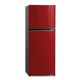 Mitsubishi ตู้เย็น 2 ประตู รุ่น MRFV22KRD 7.2 คิว (สีแดงแพรไหม)