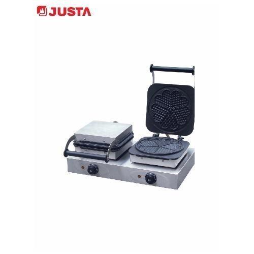 JUSTA - UWB-2H : เครื่องทำวาฟเฟิล 2 เตา