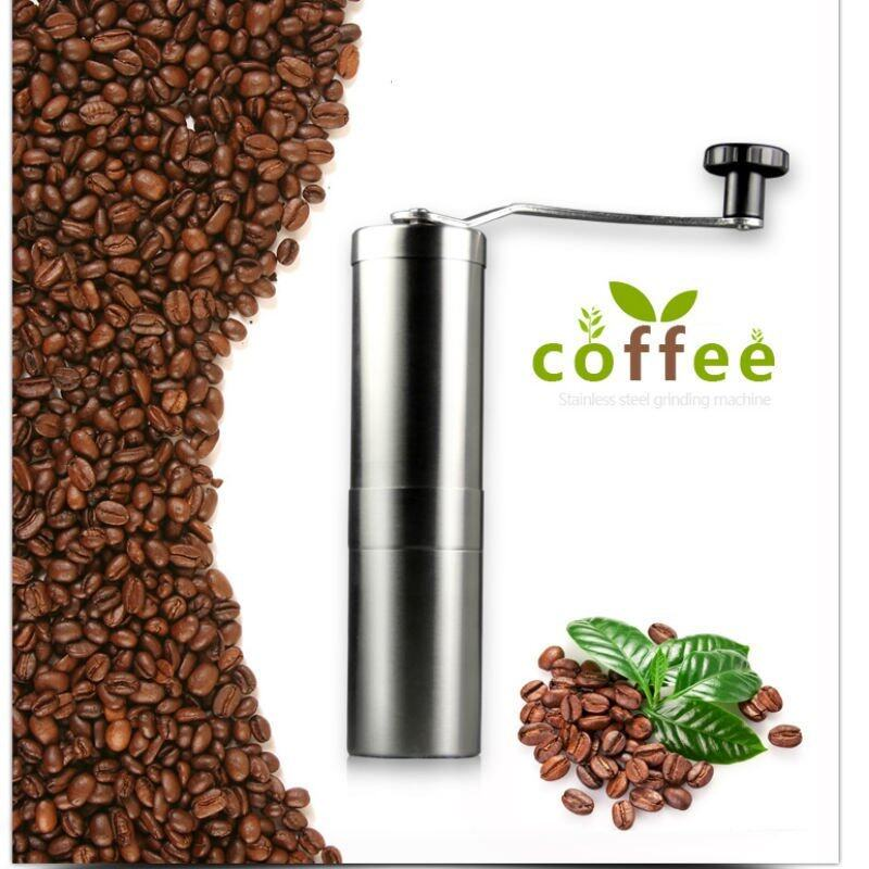 KCXNF-4I2849 CXFHIS Best Vintage Ceramic Manual Coffee Beans Mill Nut Spice Hand Grinder Stainless Steel - intl