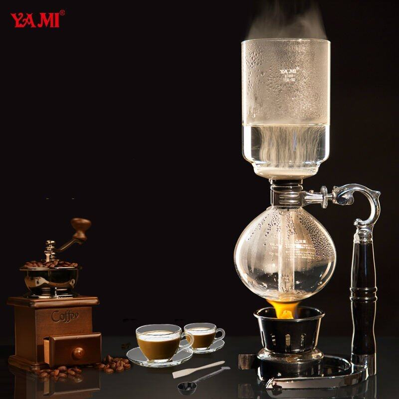 KVXH-J9348 CXHDFI Ceramic Manual Coffee Beans Mill Nut Spice Hand Grinder Stainless Steel Vintage - intl
