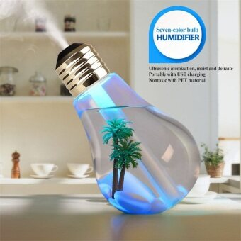 Lauva Cool Mist humidifier 7 Color LED Light USB Portable