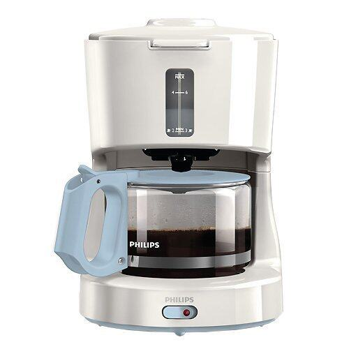 PHILIPS HD7450 Coffee Maker Compact Design 6 Cup (White)