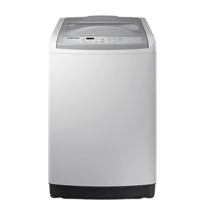 Samsung เครื่องซักผ้าฝาบน ขนาด 9 Kg. รุ่น WA90M5110SG (Gray) ...