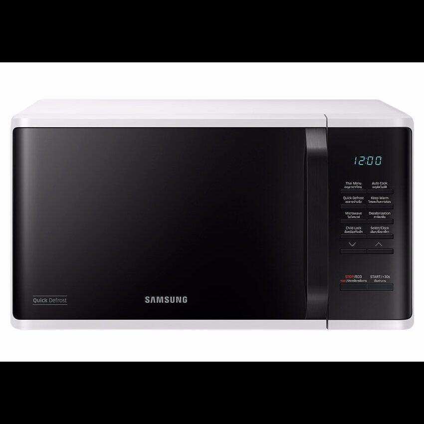 Samsung ไมโครเวฟ รุ่นSIME SAMSUNG 23L. MS23K3513AW/ST ...