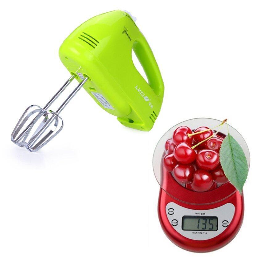 shop108 Pro Handle Mixer เครื่องผสมอาหารแบบมือถือคุณภาพสูง + Electronic Scale เครื่องชั่งดิจิตอลคุณภาพสูง 5kg/1g