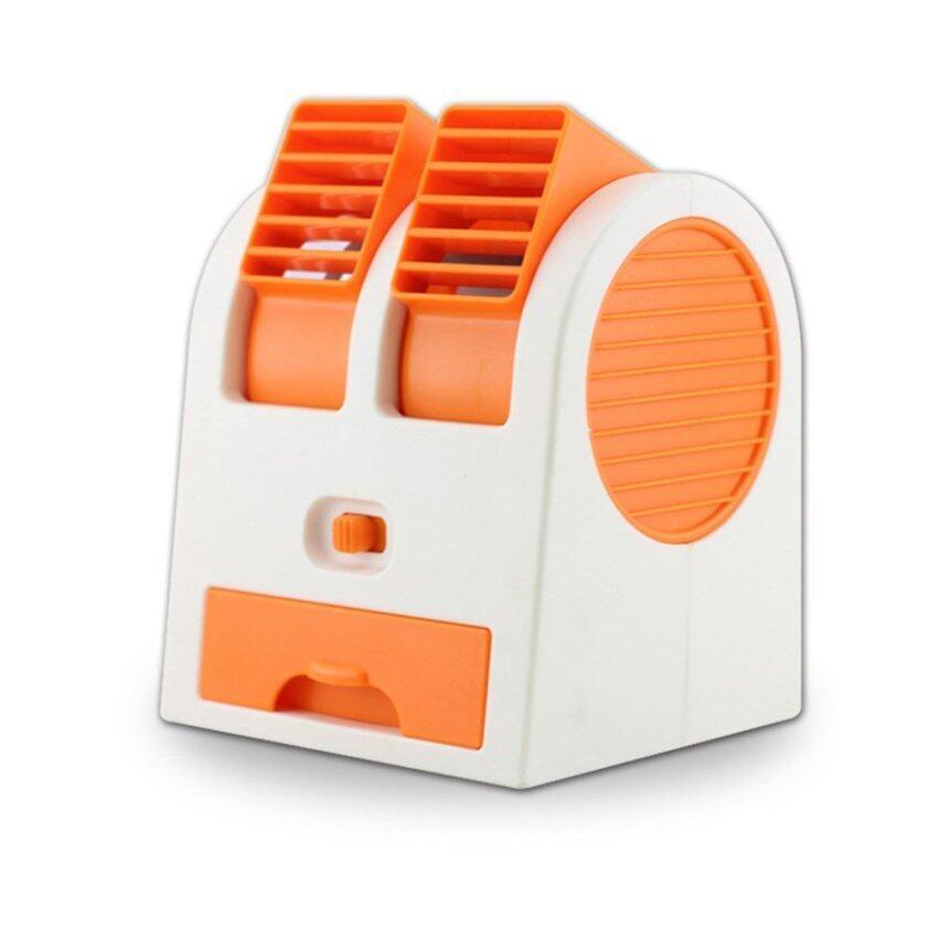 SMART LIKE พัดลมไอน้ำ แบบพกพา-สีส้ม