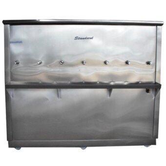 Standard By Rwc ตู้ทำน้ำเย็น สแตนเลส ขนาด 7 ก๊อก