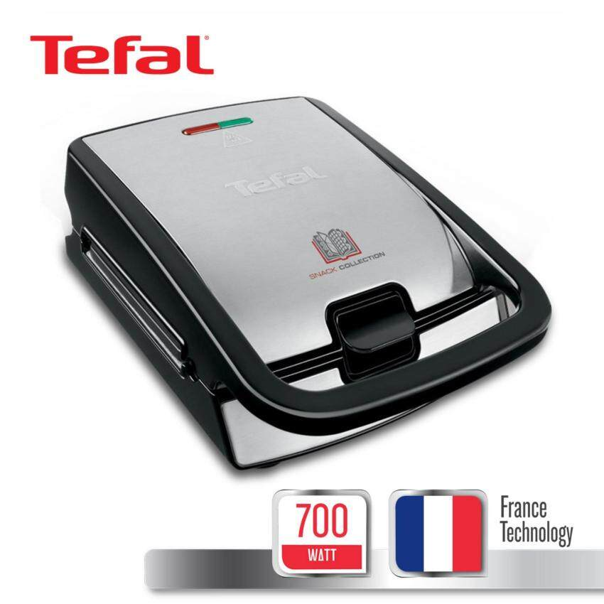 TEFAL เครื่องทำอาหารว่าง กำลังไฟ 700 วัตต์ รุ่น SW856D65 -Silver