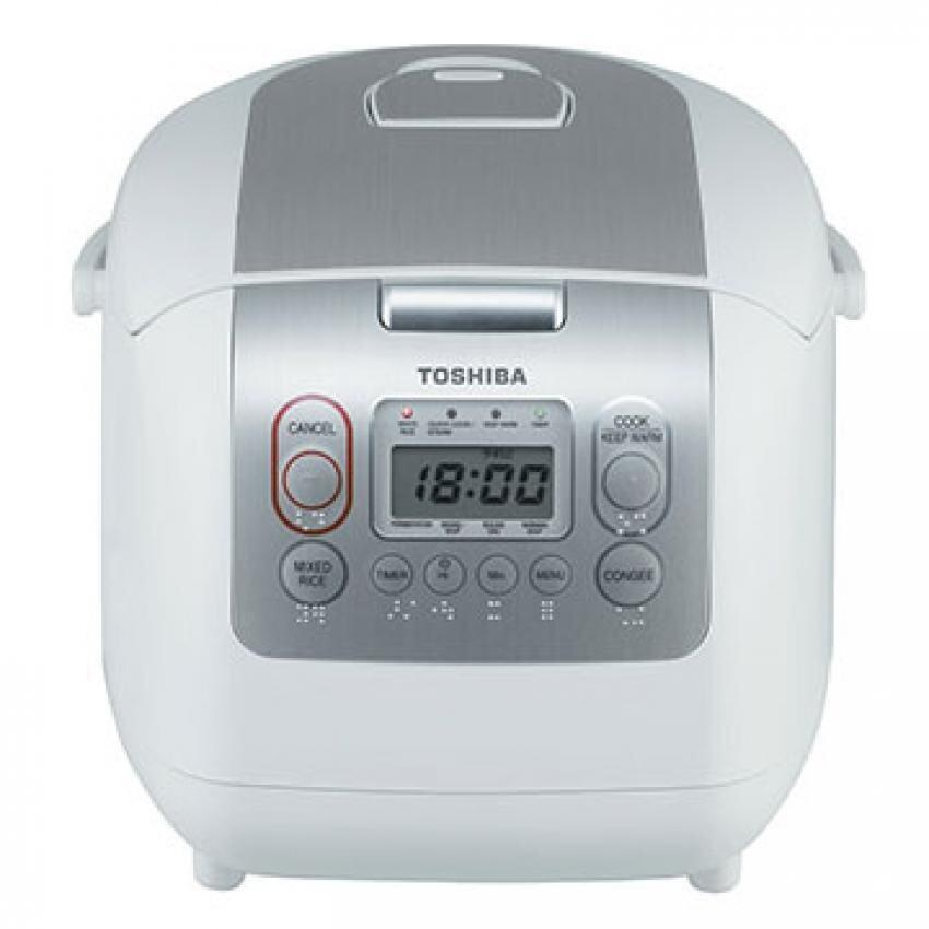 Toshiba หม้อหุงข้าวดิจิตอล ความจุ 1.8 ลิตร รุ่น RC-18NMF(WT)A (สีขาว)