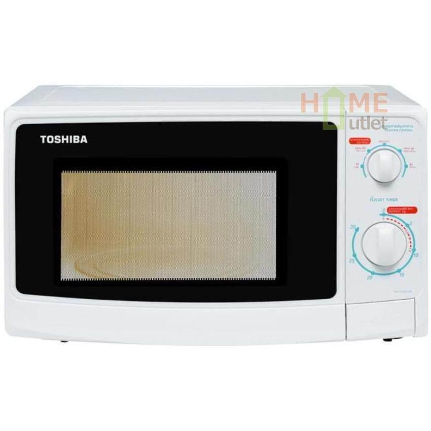 TOSHIBA เตาอบไมโครเวฟ 23 ลิตร ลูกบิด 800วัตต์สีขาว รุ่น ER-G23SC(W) ...