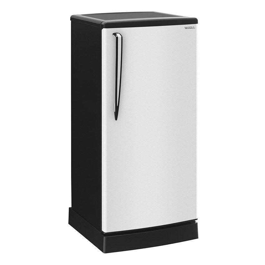 Toshiba ตู้เย็น 1 ประตู - รุ่น GR-B174Z(SBK) สีเงิน