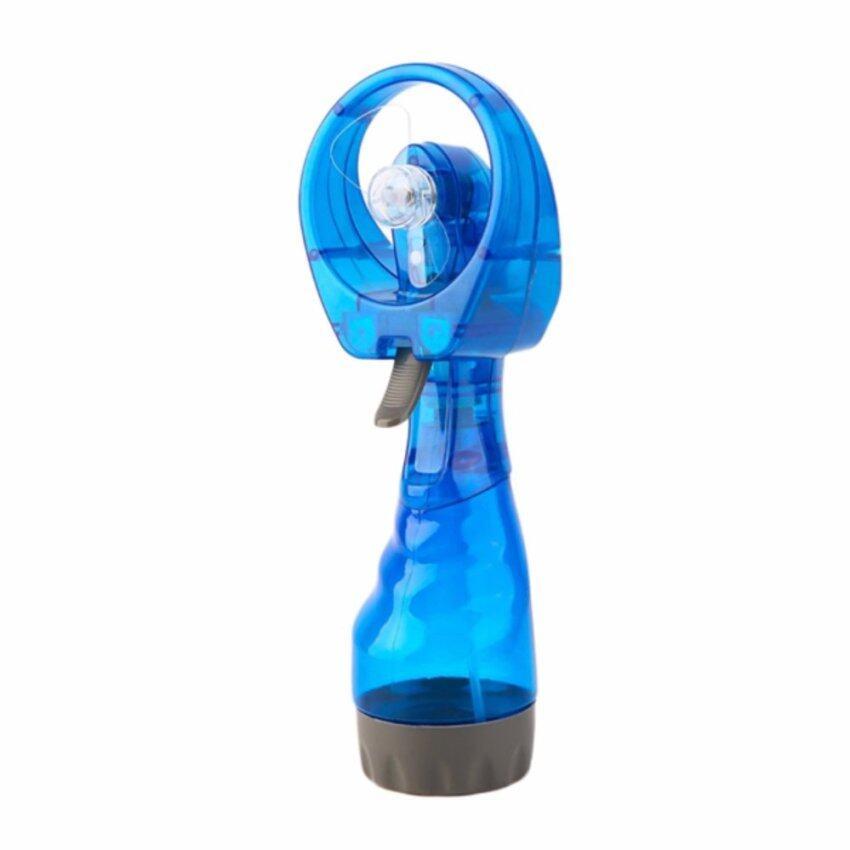 Triple3Shop พัดลมละอองน้ำ - สีน้ำเงิน ...