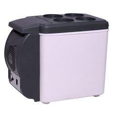 UPINTREND ตู้เย็นเล็กแบบพกพา 6L - White