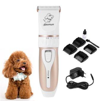 Rechargeable Cordless Low-noise Pet Grooming Set Kit Electric Professional Animal Cat Dog Hair Trimmer Clipper Shaver EU Plug