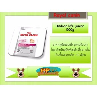 Royal Canin Indoor life junior 500g