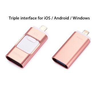 100% Genuine 32GB OTG 3.0USB Flash Drive HD Pendrive Lightning data for iPhone6s/6splus/6/7 - intl