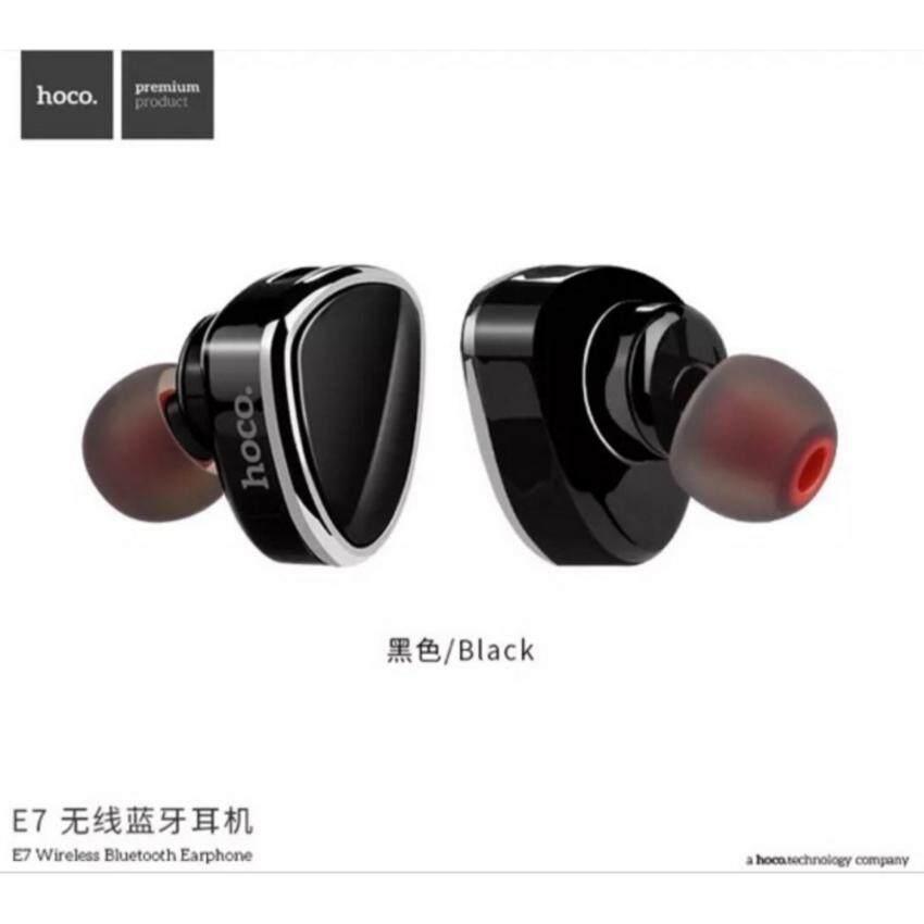 แท้ 100% Hoco E7 หูฟังบลูธูทไร้สาย Bluetooth Headset 4.1(BLACK)