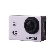 100% Original Sjcam Sj4000 Full Hd 1080p Waterproof Action Camera Sport DVR--White - intl