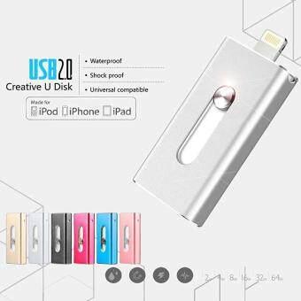 128GB USB Flash Drive For IPhone 7/7plus/6/6s Plus/5s/5/5c/Ipad Drive HD Memory Stic - intl