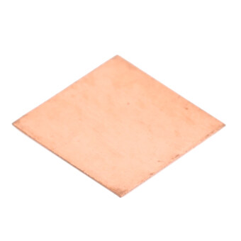 15 x 15 x 1mm Copper Graphics Thermal Pad / Cooling Pad (50 PCS / Golden)