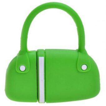 แฟลชไดร์ฟ 16 GB รูปกระเป๋า สีเขียว