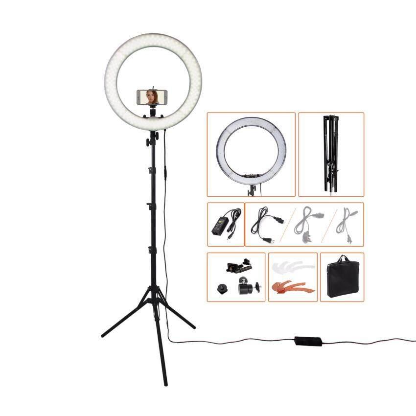 18240pcs LED 5500K Dimmable Photography Photo/Studio/Phone/Video LED Ring Light Lamp Wit ...