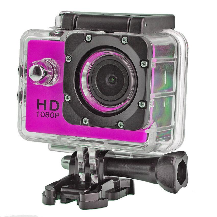 2.0 Inch Waterproof 1080P HD Bycicle Helmet Sport DV Action Camera - intl ...