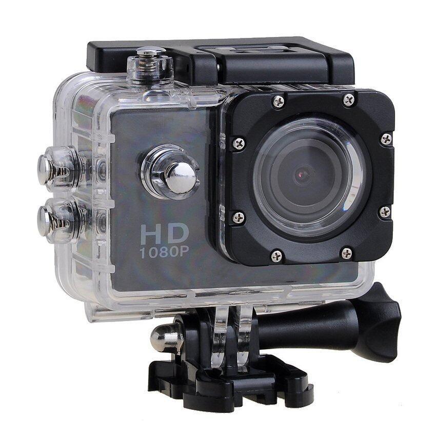 2.0 Inch Waterproof 1080P Hd Bycicle Helmet Sport Dv ActionCamera(Black) - intl ...