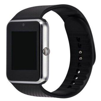 2016 New Wearable Devices GT08 Smart Watch Android ConnectedClockSmart Wach Support SIM Card Phone Smartwatch PK GD19 F69Silver - intl