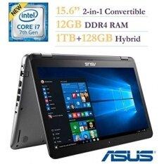 2017 ASUS 15.6-inch 2-in-1 Convertible Touchscreen FHD 1920xaptop PC, Intel Core i7-7500 2.7GHz Processor, 12GB DDR4 RAM, 1TB HDD+128GB SSD, NVIDIA GeForce 940MX 2GB, Bluetooth, Windows 10 Home - intl