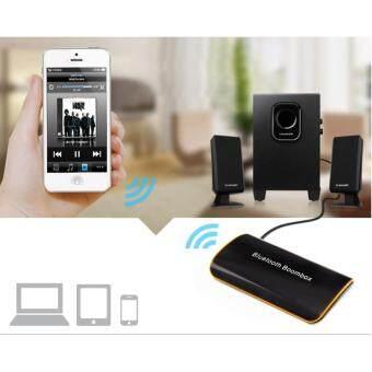 ซื้อ/ขาย 2017 B2 Bluetooth Receiver หูฟังสเตอริโอบลูทูธไร้สายบลูทูธ 4.1+EDR เสียงกล่องดนตรีกับไมค์ 3.5มมอาร์ซีเอสำหรับระบบเสียงลำโพงรถบ้านรองอุปกรณ์