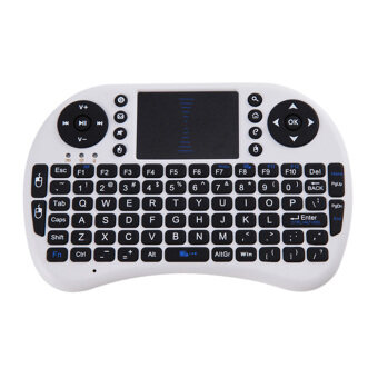 2.4G Wireless Air Keyboard Mouse Remote Touchpad (White) - Intl