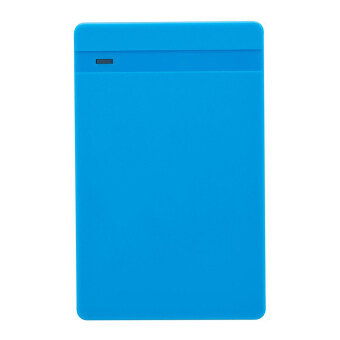 "2.5"" Tool-Free USB 3.0 SATA HDD SSD Enclosure HDD External Case w/ LED - Blue"