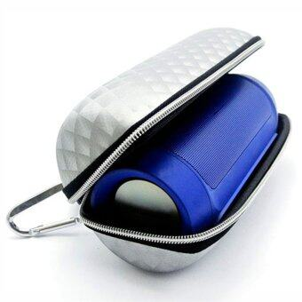 2PCS Portable Travel Hard Case Cover PU Bag Pouch for JBL Charge 2 Bluetooth Speaker White