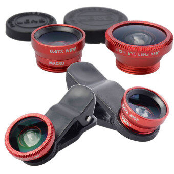3 in 1 Fish Eye Wide Angle Macro Fisheye Lens for iPhone 4 5 6 Samsung galaxy note 2 3 4 S4