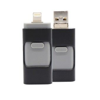 3 in 1 memory stick 256GB Otg Usb Flash Drive For iPhone7/ipad/PC/Android—black