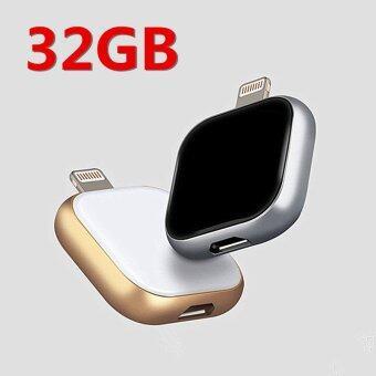 32GB New OTG USB Disk Flash Memory Stick Drive for iPhone5/6/6s/IPad Air/ PC (2 Colors)-black - intl