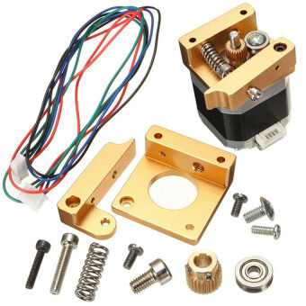 3D Printer Aluminum Extruder kit /w NEMA 17 Stepper Motor 1.75mm RepRap Prusa i3 - Intl
