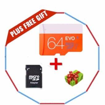 64GB Class 10 Micro memory SD card with Adaptor - intl